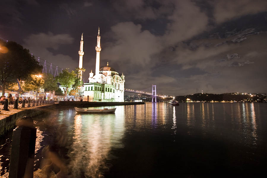 Bosphorus by night