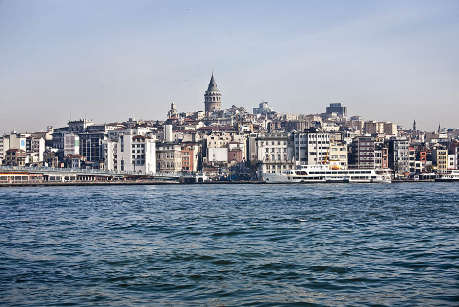 Istanbul on the sea
