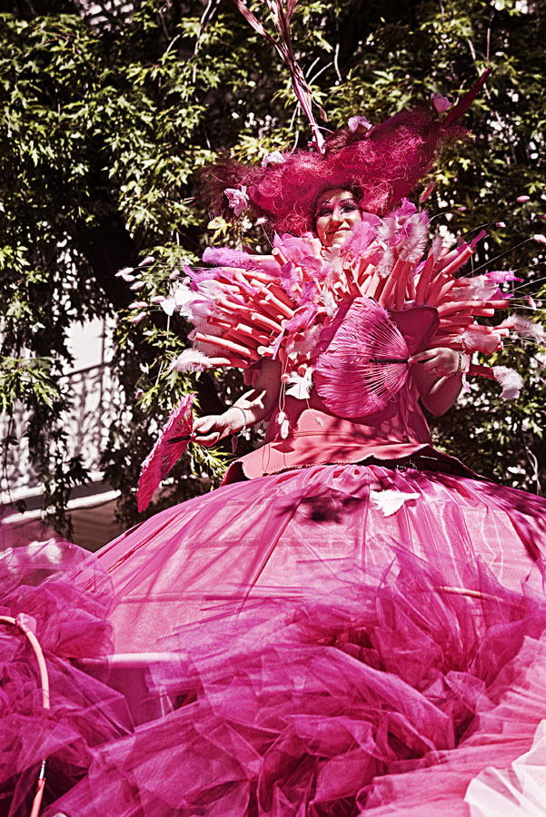 The Queen of the parade